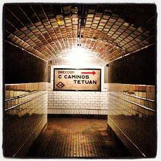 .@secretosdemadrid | Estación Fantasma de Chamberi #madrid #metro #chamberi | Webstagram - the best Instagram viewer