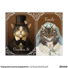 Engagement party,engagement shower postcard | Zazzle