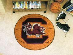 """South Carolina Basketball Mat 27"""" diameter"""