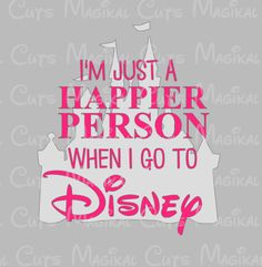 Happier Person at Disney SVG, Studio, EPS, and JPEG Digital Downloads – Magikal Cuts