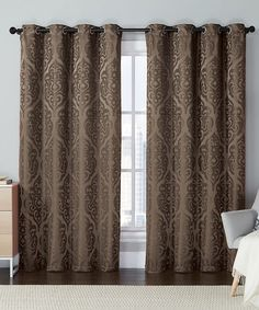 loving this brown westmount curtain panel on zulily zulilyfinds