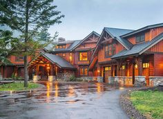 Six Bedroom Mountain Retreat - 23612JD   1st Floor Master Suite, Bonus Room, Butler Walk-in Pantry, CAD Available, Craftsman, Den-Office-Library-Study, Luxury, MBR Sitting Area, Mountain, Multi Stairs to 2nd Floor, Northwest, PDF, Photo Gallery, Premium Collection   Architectural Designs