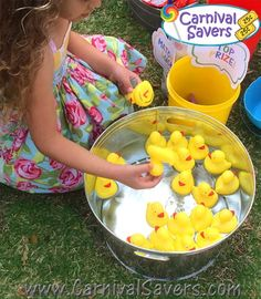 Matching Ducks - Carnival Party Game