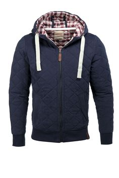Wattierter Sweat-Hoodie CASUAL - Esprit Online-Shop---Andy would look very nice in this! Cool Outfits, Casual Outfits, Fashion Outfits, Sweat Hoodie, Gilet Costume, Style Personnel, Swagg, Style Me, Moda Masculina