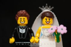 Lego Minifigures Couple