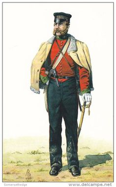 Field officer The 39th Dorsetshire Regiment of Foot, Crimea