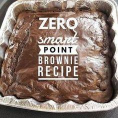 Weight Watchers brownie recipe