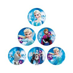 Toppers de Frozen Imprimibles