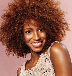 Cores de tintas de cabelo para mulheres negras