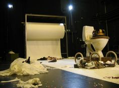 King Ubu. Corona La Balance. Set designed by Signe Beckmann. 2007