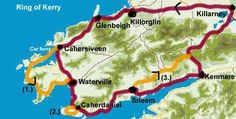 Ring of Kerry, Ireland (what a beautiful drive!) You need to enter so the scenery will be closest to the car.
