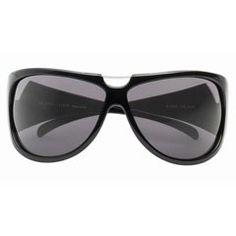 Lunettes Police de Rigo vision - Mode lunettes - Parcourue d'une fine tige de métal, cette monture noire au galbe couvrant offre l'avantage d'un excellent champ de vision, y compris sur les côtés, en maintenant une protection optimisée...