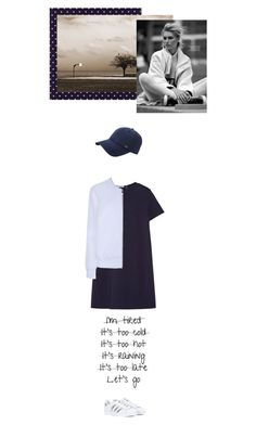 """""""Let's go"""" by blueeyed-dreamer ❤ liked on Polyvore featuring Clu, adidas, Armani Jeans, Keds, contest and sporty"""