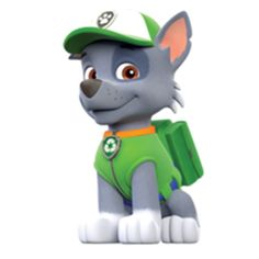 PAW Patrol Rocky the recycle pup Ryder Paw Patrol, Paw Patrol Rocky, Paw Patrol Png, Paw Patrol Cartoon, Paw Patrol Toys, Paw Patrol Cake, Paw Patrol Party, Paw Patrol Everest, Escudo Paw Patrol