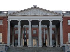 neoclassical portico of Osterley Park House - Robert Adam