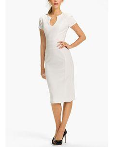 Casual Sheath/ Column Satin Short Beach Wedding Dresses with Short Sleeves