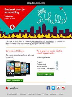 Vodafone - welkomstmail