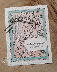 This month for Simple Stamping Techniques we are creating Floating Frame Cards ... Moe details on the blog.  #stampinup #stampalatte #makeacard #spring #birdballad #buy3get1free #hugs #makeacardsendacard #cardmaking #greetingcards #technique #simplestampingtechniques #floatingframe