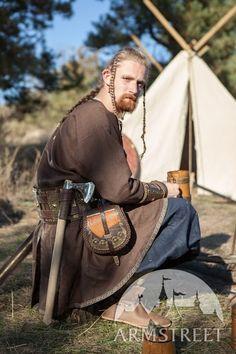 "Buy Linen Viking Tunic ""Eric the Shieldman"""