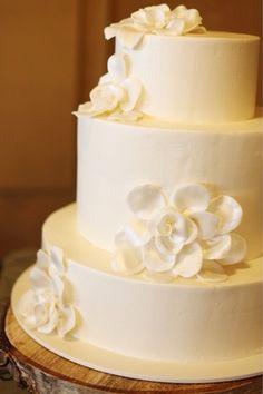 Perfect wedding cake..