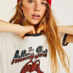 It's not only rock'n'roll. It's sheer genius 🎸(Rolling Stones T-shirt, ref 9235373) #pullandbear #rock