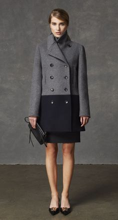 Smart colorblocked coat from @Coach, Inc.