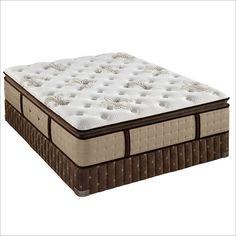 Stearns and Foster  Megan-Rose Pillow Top Luxury Plush Mattress