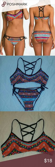 Two Piece Swimsuit Two Piece Swimsuit, Size Large Swim