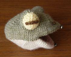 こま編みのカエル:まめくま堂