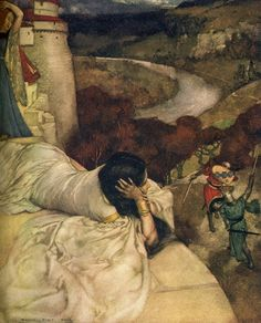 Le Morte d'Arthur (1910/1911) - Art by William Russell Flint