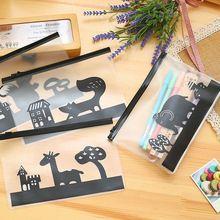 Novelty Animals Cartoon Elephant Pen Bag Storage Organizer Bag Stationery Bag FOD school pencil case for girls boys(China (Mainland))