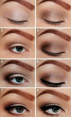 Makeup Tutorials For Green Eyes