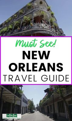 New Orleans is one of a kind! No city can compete when it comes to food, cultures, historic architecture & tourist activities. Visitors are delighted by the French Creole elegance of the French Quarter & the opulence of the Garden District. Find out everything you need to know about this fabulous travel destination with this New Orleans Louisiana travel guide. Learn about great dining, hotel deals, things to do & more. #NewOrleansTravel #Louisiana #TravelAdvice #TravelTips #VisitNewOrleans Vacation Deals, Travel Deals, Travel Guides, Travel Destinations, Visit New Orleans, New Orleans Louisiana, New Orleans Travel Guide, Haunted Tours, French Creole