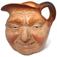 Royal Doulton John Barleycorn Pitcher - Rare Large 1970s Toby Jug, Limited Edition Special Exhibition Reproduction Signed Old Lad Character by Duckwells on Etsy