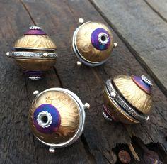 2016 Commemorative Bead, Bead and Button Show, Robyn Cornelius, Little Rock Jewellery Studio Rock Jewelry, Metal Jewelry, Beaded Jewelry, Ethnic Jewelry, Modern Jewelry, Unique Jewelry, Jewelry Ideas, Metal Clay, Metal Beads