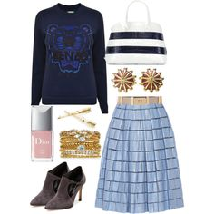 Is That a Tiger Your Wearing? by esteebrooks on Polyvore featuring Kenzo, TIBI, Casadei, Nancy Gonzalez, Accessorize, Tiffany & Co., River Island and Christian Dior