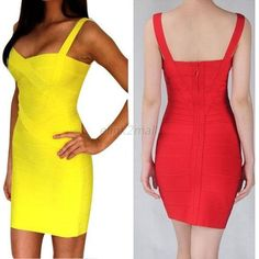 Red summer dress ebay