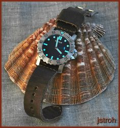 Leather strap on a Diver...got any? - Page 5