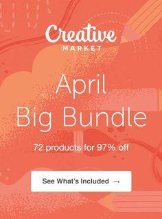 April Big Bundle: Over $1,200 in Design Goods For Only $39!