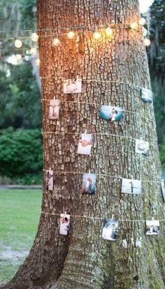 Polaroids and fairy lights: wedding essentials