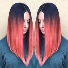 Now this is a pretty sweet lob! Hair by @cassiealvord. #Hairspo #Inspiration #Inspo #Lob #Longbob #Bob #Angle #Balayage #Melt #Highlight #Haircolor #Color #Vibrant #Popofcolor #Beautiful #Love #Hairstylist #Stylist #Salon #Hotd #Beauty #Suavecita