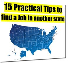 15 Practical Tips to find a Job in another state — CareerCloud