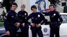 TJ Hooker William Shatner and Cast Posed POSTER