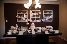 Modern-Wonderland-1st-Birthday-Dessert-Table