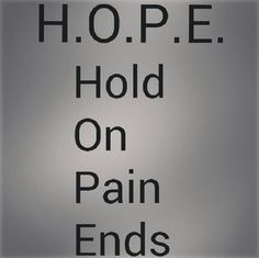 The meaning of hope
