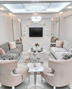 Dream Rooms I Ll Never Have Elegant Living Room Decor Living Room Sofa Design, Living Room Decor Cozy, Elegant Living Room, Home Living Room, Living Room Designs, Elegant Home Decor, Salon Interior Design, Room Interior, Interior Livingroom