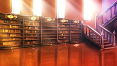 BCM: Library by Auro-Cyanide on DeviantArt Scenery Background, Fantasy Background, Living Room Background, Animation Background, Episode Interactive Backgrounds, Episode Backgrounds, Anime Scenery Wallpaper, Anime Backgrounds Wallpapers, Casa Anime