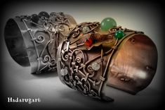 DeviantArt is the world's largest online social community for artists and art enthusiasts, allowing people to connect through the creation and sharing of art. Copper Artwork, Cuff Bracelets, Romani, Deviantart, Leather, Handmade, Accessories, Jewelry, Hand Made