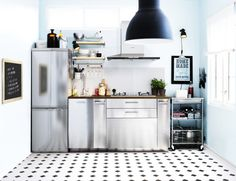 Veddinge ikea kitchen inspiration pinterest gray and - Amenagement petite cuisine ikea ...
