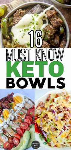 16 Easy Keto Bowls to Meal Prep